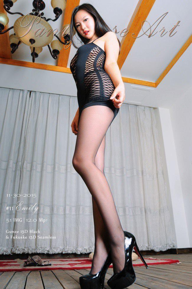 [DDY_PantyhoseArt]原创丝袜/美腿 NO.012-都市丽人Emily[52P/298M]